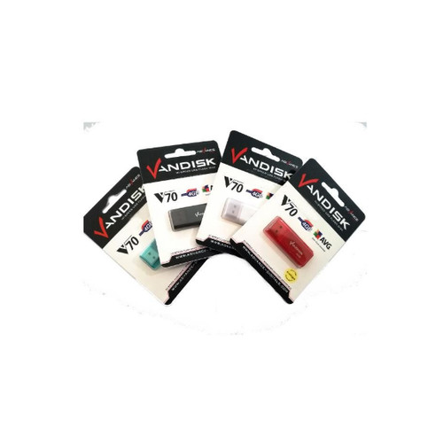 Foto Produk Flashdisk Vandisk V70 4gb V-70 4 gb USB 2.0 dari PojokITcom Pusat IT Comp
