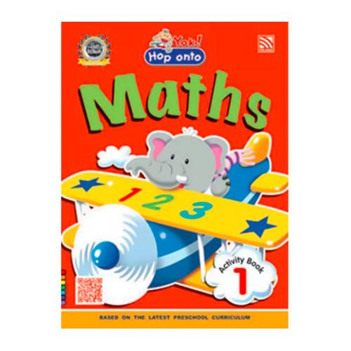 Foto Produk Yok ! Hop Onto Maths Activity 1 dari Little Bookworm