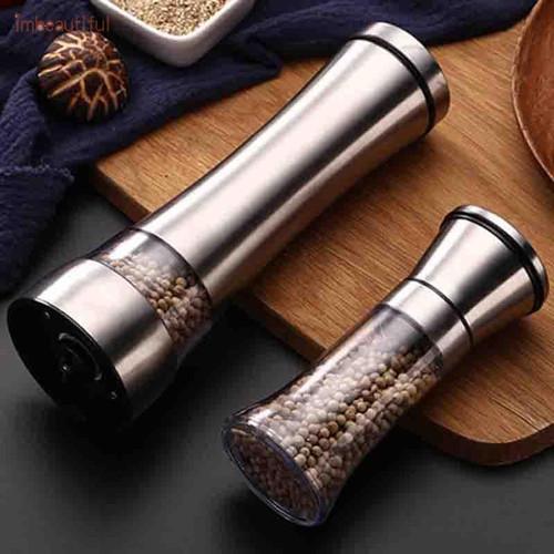 Foto Produk Manual Glass Pepper Grinder Penggiling Biji Lada - 120ml dari Dapur Sudut