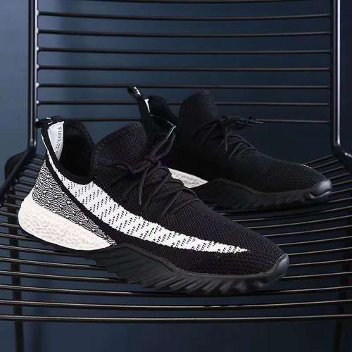 Foto Produk Dane and Dine Sneakers Man S0010 Black - S0082 BW, 39 dari Dane And Dine