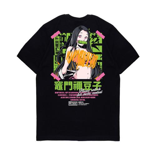 Foto Produk KIZARU - Kaos Anime Demon Slayer / Kimetsu No Yaiba ADULT NEZUKO - S dari KIZARU WORLD