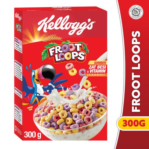 Foto Produk Kelloggs Froot Loops 300g dari Kelloggs Official