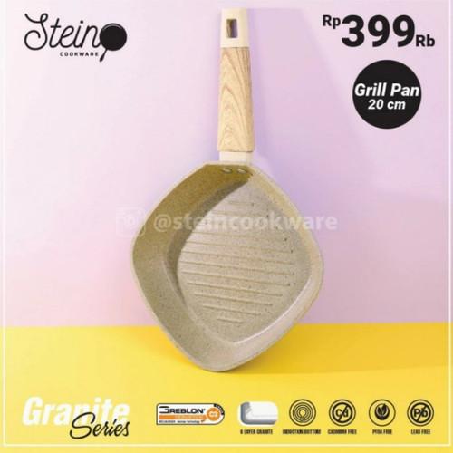 Foto Produk steincookware grill pan 20cm dari BBTronik