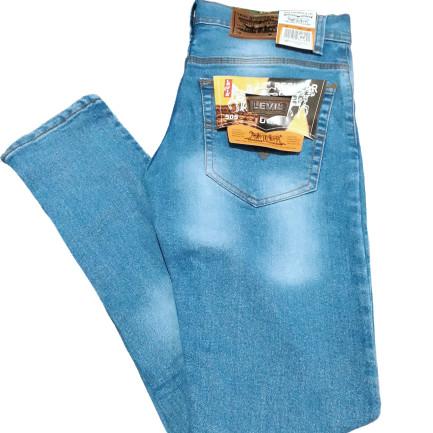 Foto Produk Celana jeans pensil/pensil slimfit pria 27-32 & 33-38 - Biru Muda, 27 dari HR JAYA KAPASAN