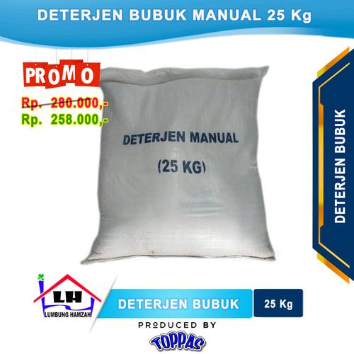 Foto Produk Deterjen Bubuk Manual Karung 25 Kg TOPPAS Instant/Sameday dari Toko Sabun Hamzah
