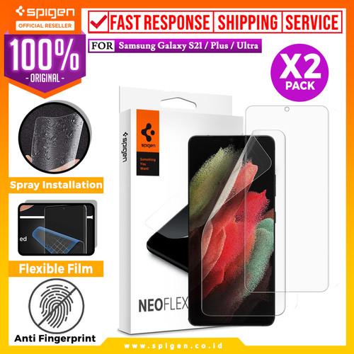 Foto Produk Anti Gores Hydrogel Spigen Samsung Galaxy S21 Ultra Plus Neo Flex - S21 Plus dari Spigen Official