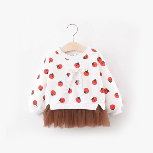 Foto Produk Berry Tutu Sweater / Atasan Bayi / Jaket Bayi - 18-24 Bulan dari Abby Baby