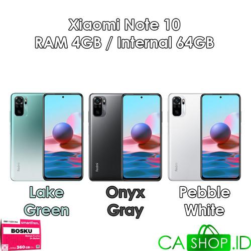Foto Produk Xiaomi Redmi Note 10 - 4GB 64GB (4/64) - New Original Garansi Resmi - Lake Green dari CA Shop