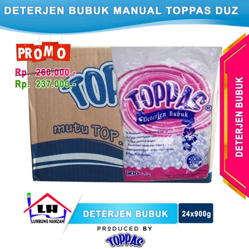Foto Produk Deterjen Bubuk Manual 1 Duz TOPPAS Mutu TOP Harga PAS Instant/Sameday dari Toko Sabun Hamzah