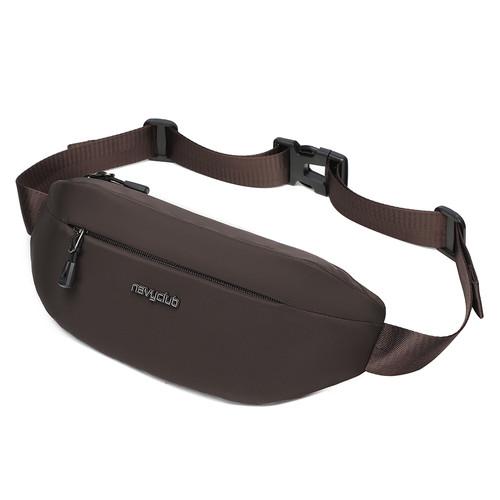 Foto Produk Navy Club Waist Bag FJGH -Tas Pria Wanita - Crossbody Bags Tas Outdoor - Cokelat dari Navy Club Official Store