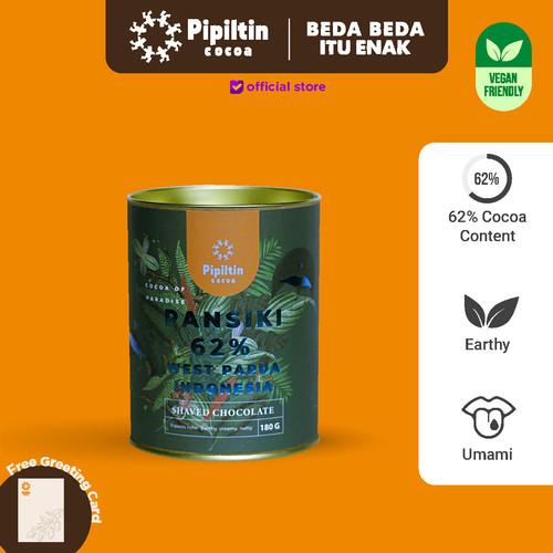 Foto Produk Pipiltin Cocoa Dark Chocolate - Choco Drink Ransiki 62% - 180gr dari Pipiltin Cocoa