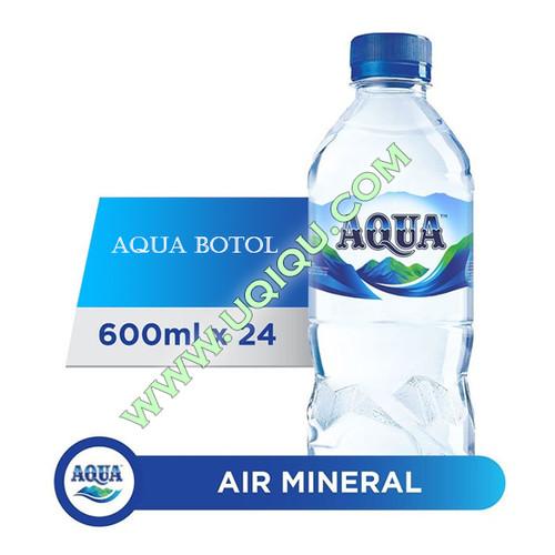 Foto Produk Aqua Botol 600 ml 1 Dus (24 Botol) dari Toko Uqiqu