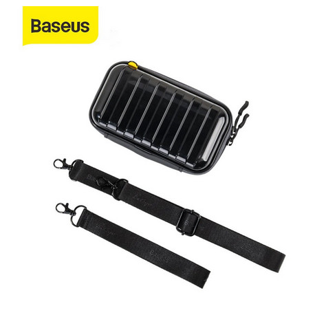 Foto Produk BASEUS STORAGE BAG GADGET ELECTRONIC ORGANIZER POUCH TAS TANGAN DOMPET - Hitam dari Baseus Auto Life