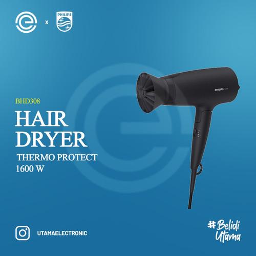 Foto Produk PHILIPS Hair Dryer 3000 Series - BHD308 dari UTAMA_ELECTRONIC