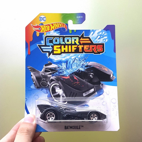 Foto Produk Hotwheels Hot Wheels Color Shifter Batmobile Hitam Original Mattel dari Hanstoy House