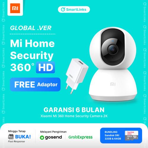 Foto Produk Xiaomi Mi Home Security Camera 360° 1080P - Xiaomi CCTV Ip cam Kamera - HD dari SmartLinks