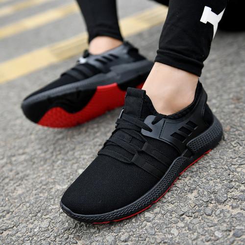 Foto Produk Sepatu sneakers Pria Dane and Dine S0030 Hitam - S0030 Black, 40 dari Dane And Dine