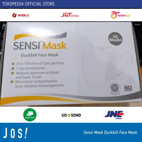 Foto Produk Masker 3Ply SENSI DUCKBILL ORIGINAL face DUCK 3 ply ISI 50PCS dari J O S