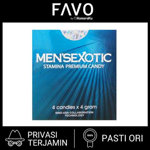 Foto Produk Mensexotic Candy - 4 Butir - Permen Kuat Pria Tahan Lama dari FAVO Official Store