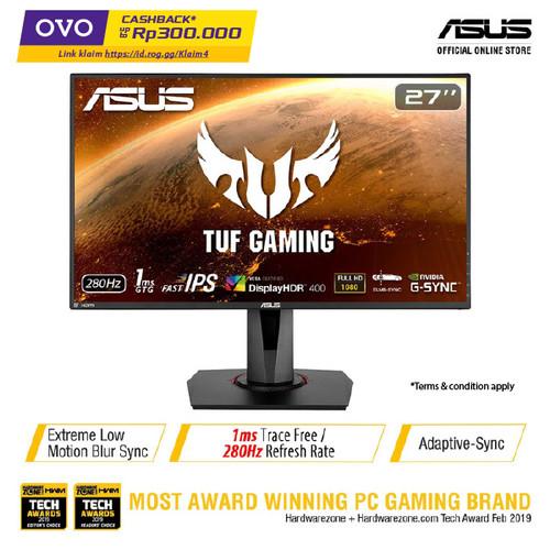 """Foto Produk ASUS TUF Gaming VG279QM Gaming Monitor 27"""" Full HD, IPS, 280Hz, 1ms dari Asus Component"""