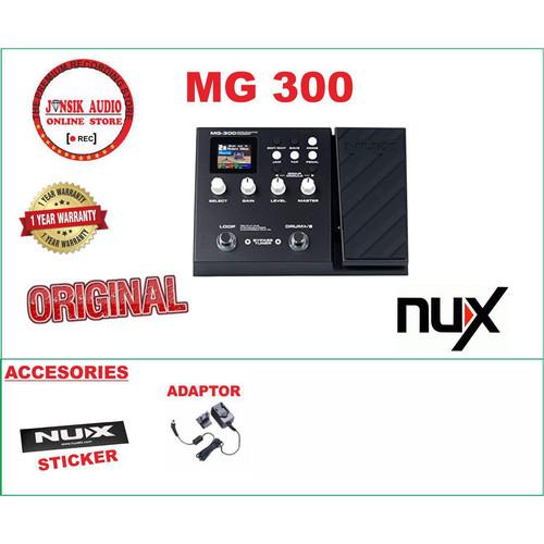 Foto Produk nux mg300 mg 300 mg-300 multi efek gitar dari Jansik Audio