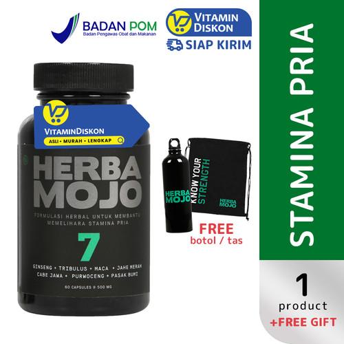 Foto Produk HERBAMOJO UNTUK MEMBANTU MEMELIHARA STAMINA PRIA 60 CAPS dari VitaminDiskon Official