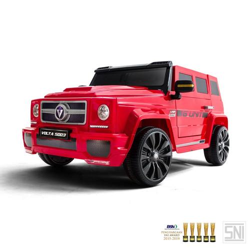 Foto Produk Mainan Mobil Aki G-Unit Volta 5003 By SHP Toys - Merah dari SHP TOYS