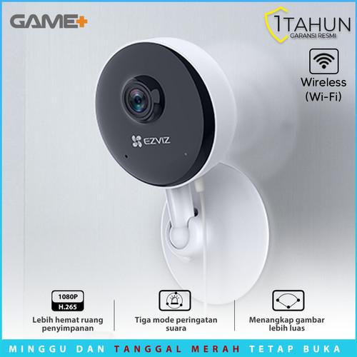 Foto Produk EZVIZ C1C-B 2MP PRO H.265 WIRELESS IP CAMERA 1080P BERGARANSI RESMI - C1C-B dari GamePlus