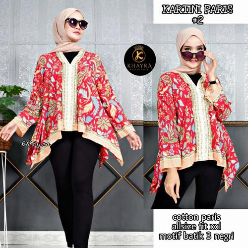 Foto Produk blouse wanita lengan panjang premium dari Jivan Batik