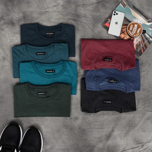 Foto Produk Dzargo Kaos Polos Premium Trethone 30s - Biru, S dari DZARGO Official Store