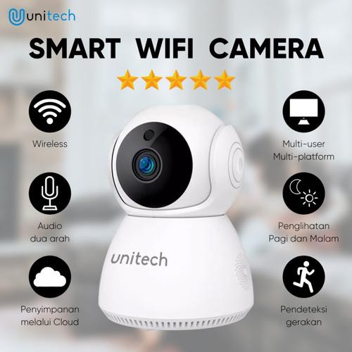 Foto Produk CCTV Mini Wifi Unitech Q9 Wireless Kamera Camera Baby Monitor + Mic dari TokoUsbcom