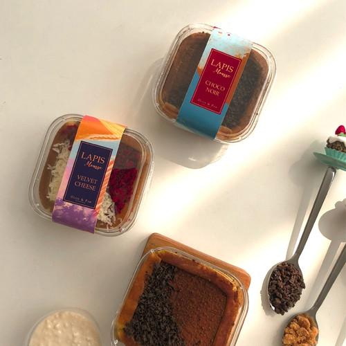 Foto Produk Olive and Pam Lapis Legit Mousse 2 pcs (Kue Ulang Tahun/ Hamper/ Gift) dari OLIVE AND PAM PATISSERIE