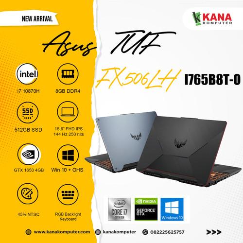 Foto Produk Asus TUF F15 FX506LH I765B8T O Core i7 10870H/GTX1650/SSD 512GB/8GB dari kanakomputer