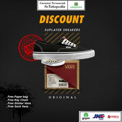 Foto Produk Vans classic Authentic Black White Original Global Market BNIB - 43 dari Suplayer Sneakers