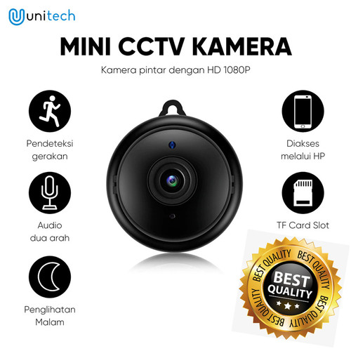 Foto Produk CCTV Mini Wifi V380 Kamera Infrared Night Vision Motion Detectection dari TokoUsbcom