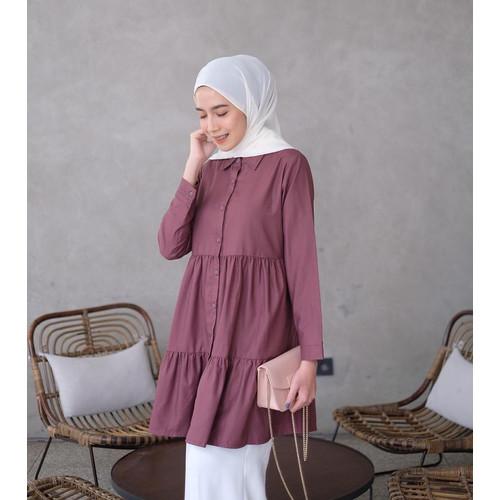 Foto Produk Atasan Wanita Muslim   Kalina Tunik   Tuyobo Premium - Lavender dari Terminalgrosir Indonesia