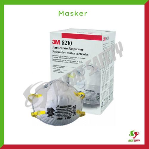 Foto Produk Masker 3m N95 8210 debu asap isi 20 pcs per box dari Pusat Safety Online