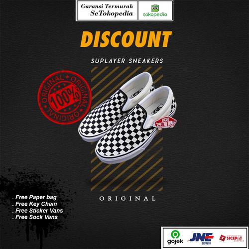 Foto Produk Vans Slip On Classic Checkerboard Global Original - 37 dari Suplayer Sneakers
