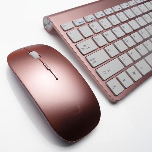 Foto Produk READY STOCK Universal mouse + keyboard multifunction - rose gold dari Koreanholicshop