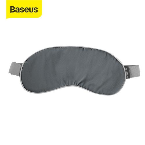 Foto Produk BASEUS PENUTUP MATA MASKER MATA PIJAT TERMAL SLEEPING EYE MASK - gray dari Baseus Official Store