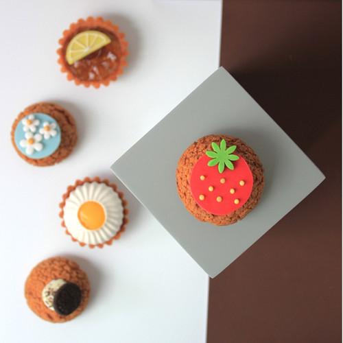Foto Produk Olive and Pam Mix Tartlet Choux 6 pcs (Kue Ulang Tahun/ Hamper/ Gift) dari OLIVE AND PAM PATISSERIE