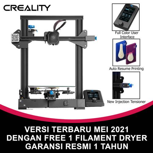 Foto Produk 3D Printer Creality Ender 3 V2 Versi Terbaru Prusa i3 Garansi Resmi dari INDOCART