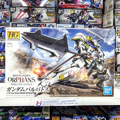 Foto Produk Gundam Barbatos HG 1/144 Bandai Model Kit dari Hobby Japan