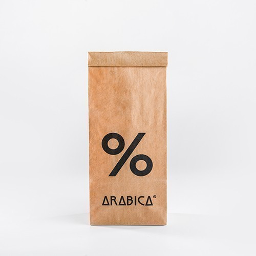 Foto Produk % Arabica Sumatra Lintong 200 gram Single Origin ( coffee beans ) - Whole Beans, Roast Level 2 dari % ARABICA