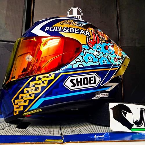 Foto Produk Shoei X Spirit 3 Marquez Motegi 3 - Made in Japan - Original 100% dari Jual Helm AGV