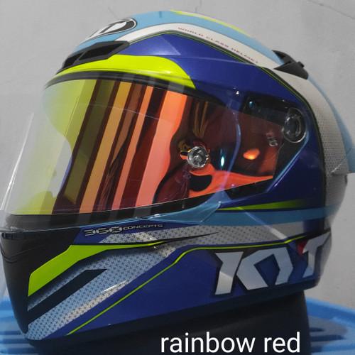 Foto Produk tear off kyt tt course - rainbow red dari ferdi servis helm