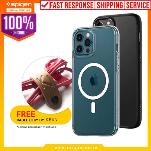 Foto Produk Case iPhone 12 Pro Max/Pro/Mini Spigen Ultra Hybrid Anti Crack Casing - 12 Mini, Sand Beige dari Spigen Official
