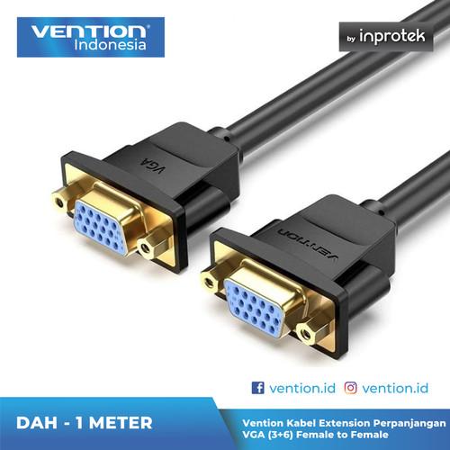 Foto Produk Vention Kabel Extension Perpanjangan VGA (3+6) Female to Female - DAH dari Vention Indonesia