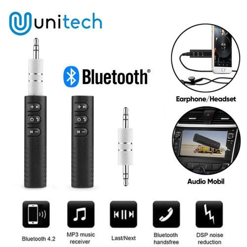 Foto Produk Bluetooth Wireless Audio Receiver Dongle Music Receiver AUX 3.5mm dari TokoUsbcom