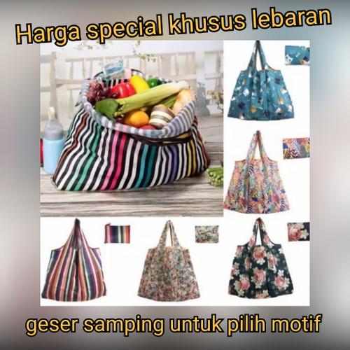 Foto Produk EcoFriendly Tas belanja lipat kantong lipat kantong shopping motif dari Bag & Beyond